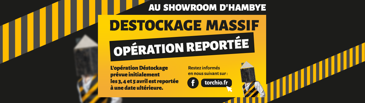 "Report opération ""Destockage"""